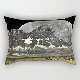 Mountains of Montanya Rectangular Pillow