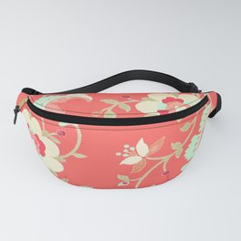 coral adrienne Fanny Pack