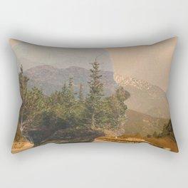 Scenic Mountainside Drive 1 Rectangular Pillow