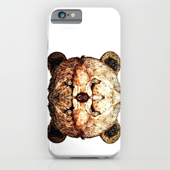 Two-Headed Bear iPhone & iPod Case