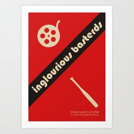 Inglourious Basterds Bauhaus Poster Art Print