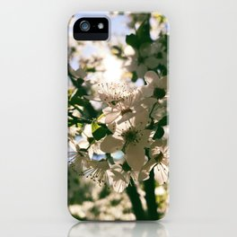 spring is inspiration iPhone Case