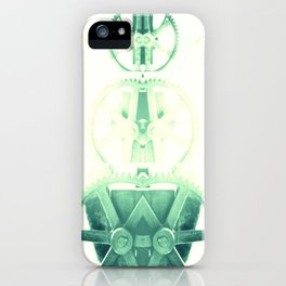 Oil the wheels iPhone Case
