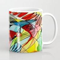 karma Mugs featuring karma by sylvie demers