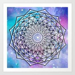 Sacred Geometry: Big Bang Art Print