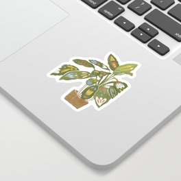 Scandinavian Plant Sticker