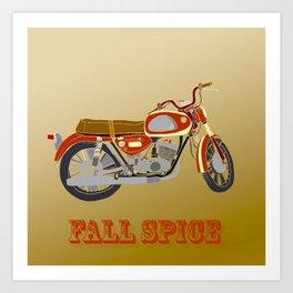 Vintage Motorcycle Gems II Art Print