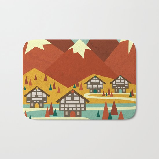 Switzerland Bath Mat