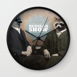 Mordecai & Rigby Wall Clock