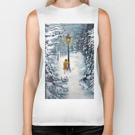 The Lamppost Biker Tank