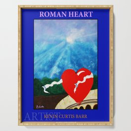 ROMAN HEART Serving Tray