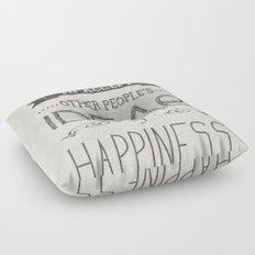 Happiness Floor Pillow