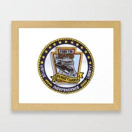 USS PENNSYLVANIA (SSBN-735) PATCH Framed Art Print