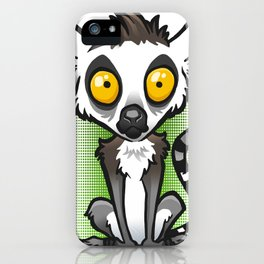 Ring-Tailed Lemur iPhone Case
