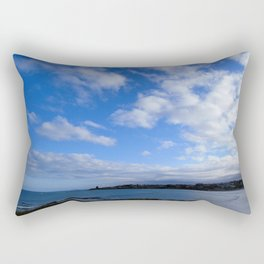 Kakanui River Mouth Rectangular Pillow