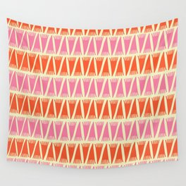 Tee Pee Sixties Wall Tapestry