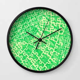 Life is a puzzle 17 Wall Clock