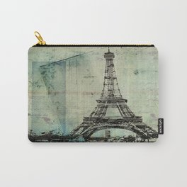 With Love From Paris Carry-All Pouch