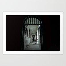 Where my darkness goes Art Print