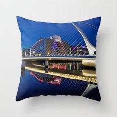 Dublin Dockland's Throw Pillow