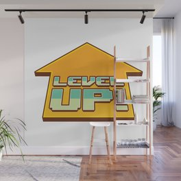LEVEL UP! Wall Mural