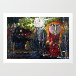 Little Red Riding Hood - Reactivation Art Print