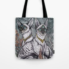 Gift of Sight art print Tote Bag