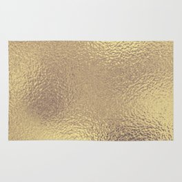 Simply Metallic in Antique Gold Rug