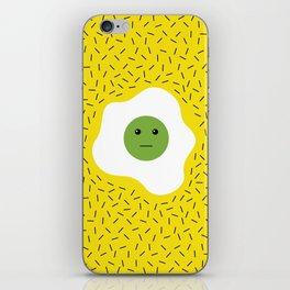 Eggs emoji iPhone Skin