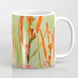 Tropical Floral Malaysian Border Print Coffee Mug