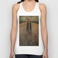 farm Tank Tops featuring Animal Farm by Marilyn Foehrenbach