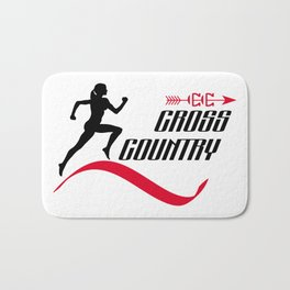 Cross country Bath Mat