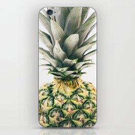Pineapple Close-Up iPhone Skin