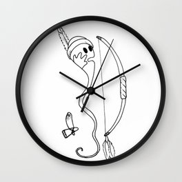 The Indian Wall Clock