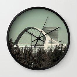 Bridge and Tower Wall Clock