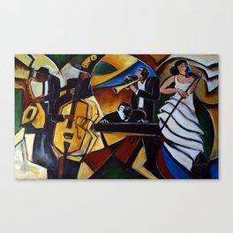 The Jazz Group Canvas Print