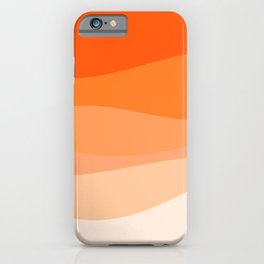 Creamsicle Dream - Abstract iPhone Case