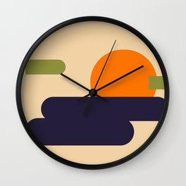Summer Vacation Wall Clock