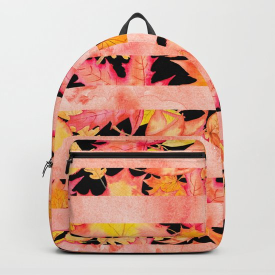 Autumn leaves #16 Backpack