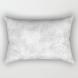 Snowflake Snowstorm Rectangular Pillow