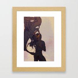THE ILLUMINATION Framed Art Print