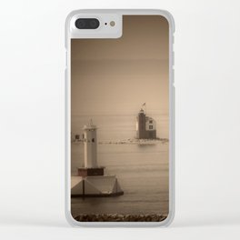 A Lighthouse & Beacon Clear iPhone Case