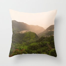 Himalayan Fog - Warmer Throw Pillow