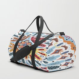 Spanish Tiles Duffle Bag