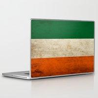 irish Laptop & iPad Skins featuring Irish by Jason Michael