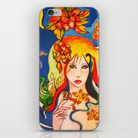 destiny iPhone & iPod Skins featuring Destiny by Ming Myaskovsky