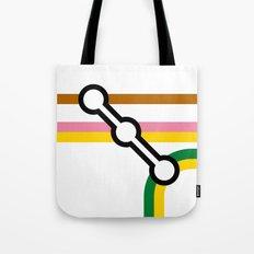 Tube Junction 4 Tote Bag