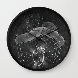 The peaceful part in heaven. Wall Clock
