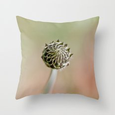 Happy solitude Throw Pillow