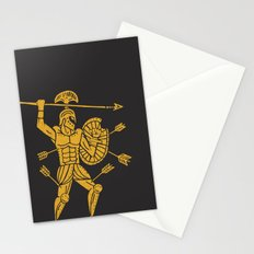 the warrior Stationery Cards